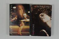 LOT of 2 Vtg Mariah Carey Cassette Singles Someday & Emotions