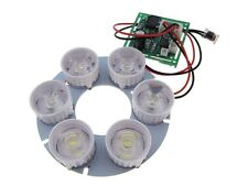 6*LED Panel with Lens For night verison camera lighting 60d - White D15-4