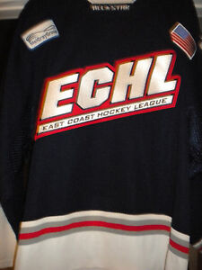 2002 ECHL ALL-STAR MIKKO SIVONEN  SIGNED GAME WORN HOCKEY JERSEY