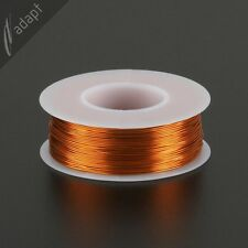 25 AWG Gauge Magnet Wire Natural 250' 200C Enameled Copper Coil Winding