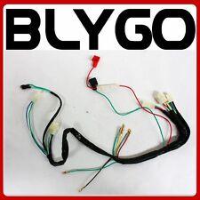 Wire Wiring Harness Loom + Light Wire 110cc 125cc 140cc PIT PRO Trail Dirt Bike