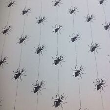 Ashley Wilde.MISS SPIDER 100%Cotton Fabric.Curtains/Cushions/Craft