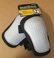 SH2017  Durable EXTRA-LARGE SHELL KNEE PADS w/ soft breathable inner padding$$%%
