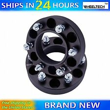"2 Wheel Spacers 1.5"" fit 6X5.5 with M12x1.5 Studs Toyota 4Runner Tundra Sequoia"