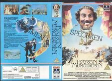 The Adventures Of Baron Munchausen VHS Video Promo Sample Sleeve/Cover #8892