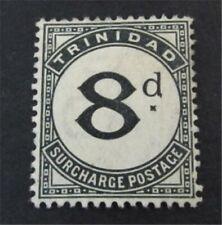 nystamps British Trinidad & Tobago Stamp # J7 Mint OG H $58