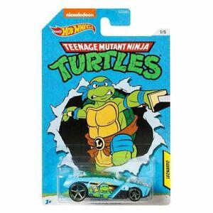 Hot Wheels Die-cast Teenage Mutant Ninja Turtles Leonardo Rogue Hog Cars New