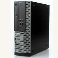 Dell Optiplex 390 SFF Desktop PC Up to Intel Core i5 8GB RAM 1TB / SSD + WIFI