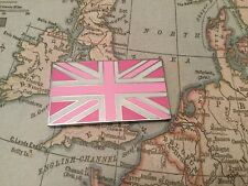 Union Jack GB Bandiera BADGE auto con 3M S/una Jaguar Land Rover TVR MG Rosa