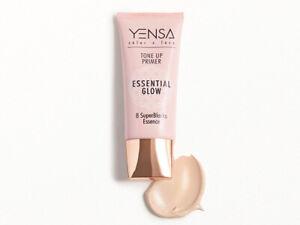 YENSA Color + Face Tone Up Primer Essential Glow, 1fl oz, sealed! Full Size NIB