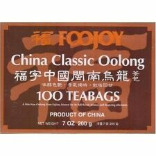 China Foojoy Classic Oolong - Wu Long  Weight Loss Tea 100 Tea Bag