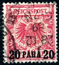 Deutsche Post in d. Türkei,Mi.-Nr.7ao-verwendet 1889,geprüft  Dr. Steuer, pracht