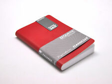 """Zequenz 360 Soft Bound Journal Notebook Mini 5.6"""" x 3.6"""", Red , Blank 170  pages"""
