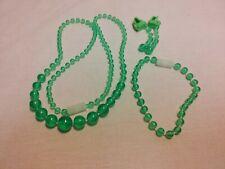 Pretty Pretty Princess 1995 Board Game Pieces Green Jewelry Set