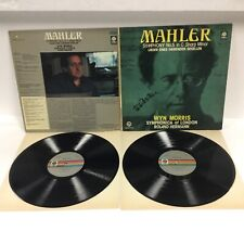 MAHLER SYMPHONY NO.5 IN C SHARP MINOR SIGNED BY ROLAND HERMANN ON COVER LH607