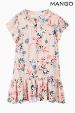 NEXT BNWT - New Girls Mango Floral Print Summer Dress Size 6 / 7 years 122 cm