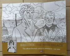 Sherlock The Mind Palace  Ausmal Poster ( nicht das Buch ) zum ausmalen, sammeln