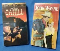 John Wayne TEXAS TERROR & CAHILL VHS NEW, Sealed