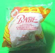 McDonalds Happy Meal Babe A Little Pig Goes a Long Way #1 NIP sealed 1995