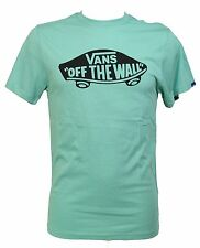 T-shirt Vans Tg. S Verde Off The Wall Maglietta Unisex Uomo Donna Vjay J2d Shirt