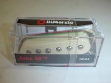 DiMarzio DP415 Area 58 Single Coil Stratocaster Electric Guitar Pickup AGE WHITE