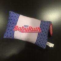 "NEW Nestle BABYRUTH BABY RUTH CANDY BAR 12"" Plush STUFFED ANIMAL Toy NWT"