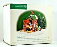 Department 56 New England Village Series The Woodworker #56619 Heritage Village