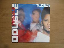 "DOUBLE TROUBLE - TALK BACK Vinyl 12"" 45RPM UK 90 Breakbeat VG+  DESIRE WANT X 27"