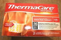 !!LOWEST PRICE!!  10 X THERMACARE HEATWRAPS LOWER BACK & HIP (L-XL) EXP:02-2022!