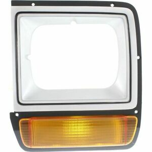 New LH Side Painted Head Lamp Door With Single H/L Fits D150 D250 CH2512122