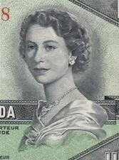 1954 BANK OF CANADA QEII $1 **DEVILS FACE** (( EF+ ))