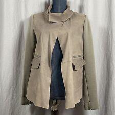 Sportmax Code Gray Jacket 100% Cotton Size 4