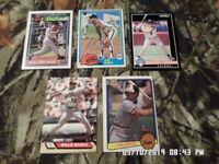 Mixed Lot of 20 Baseball Sports Cards (LOT #6) 1981-1993 Fleer Topps Donruss