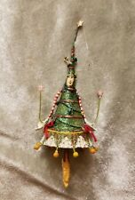 Krinkles Patience Brewster Mini Dancing Tree Lady Ornament Dept 56
