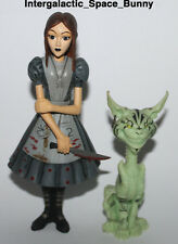 2000 Electronic Mcgee Art Alice in Wonderland Alice & Cheshire Tower Records Glo