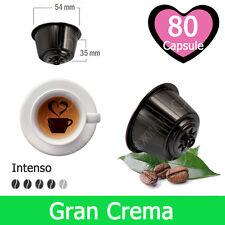 80 Capsule Caffè Kickkick Aroma Gran Crema Cialde Compatibili DOLCE GUSTO