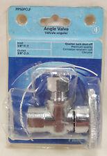 Plumb Pak PP50PCLF 1/4 Turn Angle Shut-Off Valve 3/8 FIP X 3/8 OD