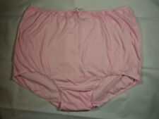 Emmie Briefs Plus Sizes 28 to 42 Womens Cotton Full Knickers Pants Pink