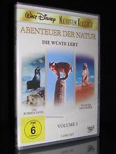 DVD WALT DISNEY - ABENTEUER DER NATUR - VOLUME 1 - NATURFILM KLASSIKER ** NEU **