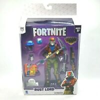 Fortnite Game Legendary Series Rust Lord Articulated Figure & Weapon 8 Pieces