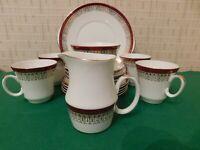 "VINTAGE ROYAL GRAFTON BONE CHINA TEA SET ""MAJESTIC"" 15 PIECE TEA SET"