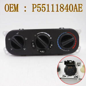 For 2007-2010 Jeep JK Wrangler A/C Heater Temperature Switch Control P55111840AE