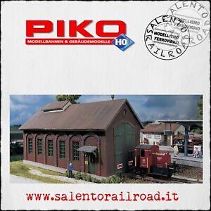 PIKO 61823 deposito rimessa ferroviaria per locomotive scala 1:87