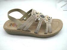 Earth Spirit 42 11M beige beaded slingbacks womens sandals shoes 25033100
