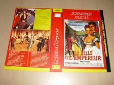 JAQUETTE VHS La Belle et l'Empereur (Die schöne Lügnerin) Romy Schneider