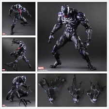 Play Arts Kai VARIANT Marvel Universe Venom Action Figure Toy Doll Model Display