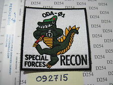 Special Forces Group ODA 01 color patch 7th SFG Operational Detachment