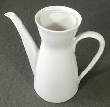 Rosenthal Germany Raymond Loewy White Coffee Tea Pot No Lid Excellent