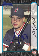 1999 Bowman #132 Signed Andy Abad RC Red Sox Autograph 1B JSA