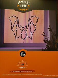 "NEW Hyde And EEK! 18"" LED BAT Light - Halloween Lights Decor Indoor/Outdoor"